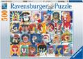 Ravensburger - Typefaces Puzzle 500pc