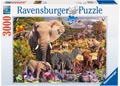 African Animal World Puzzle 3000pc