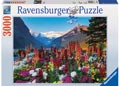 Mountains of Flowers Puzzle 3000pc