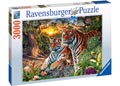 Ravensburger - Hidden Tigers Puzzle 3000pc