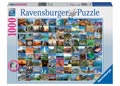 Ravensburger - 99 Most Beautiful Places Puzz 1000pc