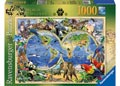 Rburg - Word of Wildlife Puzzle 1000pc