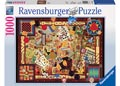Ravensburger - Vintage Games Puzzle 1000pc