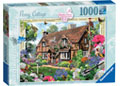 Peony Cottage Country Cottage 1000pc