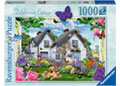 Delphinium Cottage Country Cottage 1000pc