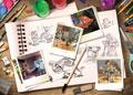 Disney Pixar Sketches Puzzle 1000pc