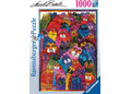Ravensburger - Burch Fantastic Felines Puzzle 1000pc