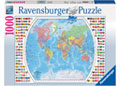 Ravensburger - Political World Map Puzzle 1000 pieces