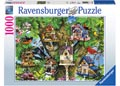 Bird Village Puzzle 1000pc