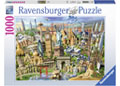 Ravensburger - World Landmarks 1000pc
