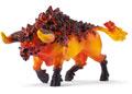 Schleich-Fire bull