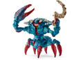 Schleich-Battle crab with weapon