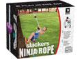 Slackers - Ninja Climbing Rope 8' w/ Foot Holds